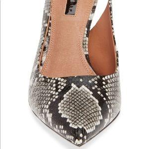 Topshop Shoes - NWT Topshop Slingback Heels